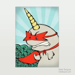 Narwhal, Superhero Series
