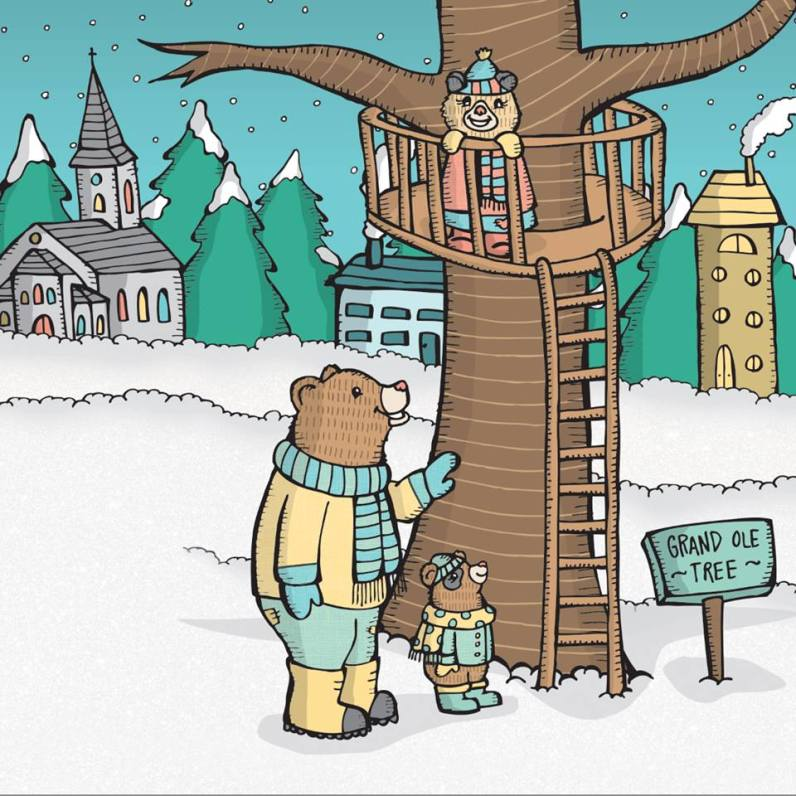 Blended Bear Family Children's Book