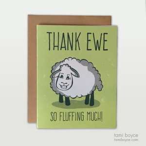 Thank Ewe Card Set