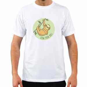 Sloth, Slow Your Roll T-Shirt men