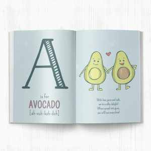 Just Eat it Already ABC for Future Foodies A Page