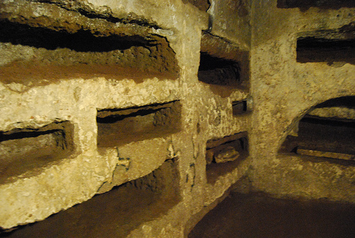 Catacombs of San Callisto, Rome, Italy