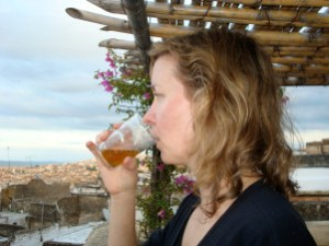 Me, rooftop of Dar El Hana