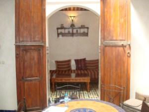 Lounge room at Dar El Hana