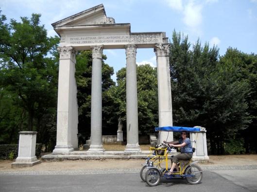 Borghese Gardens, Rome, Italy