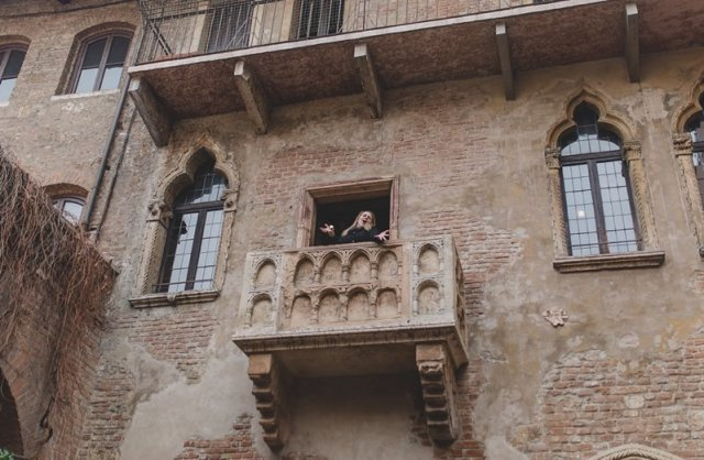 Juiet's Balcony - House of Juliet - Verona Italy