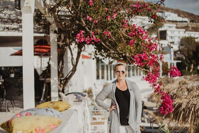 Agios Stephanos Beach in Mykonos, Greece by Tami Keehn