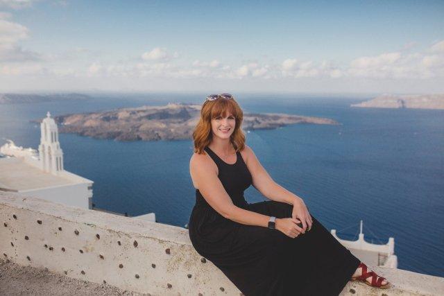 Views from Oía, Santorini Greece by Tami Keehn