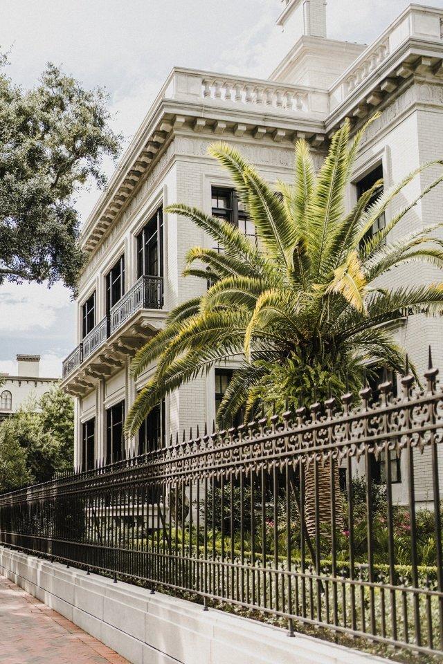 The Armstrong Kessler mansion in Savannah, GA