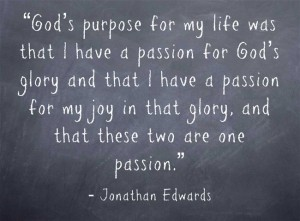 God's Purpose - Edwards