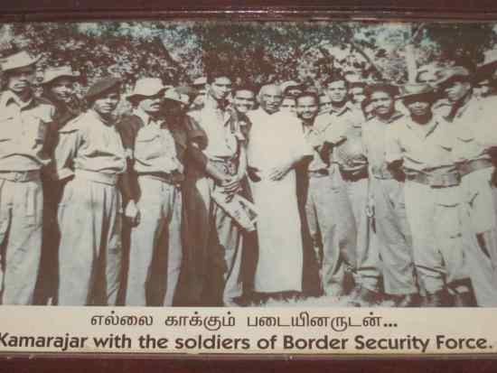 kamarajar photos With Border Security Force