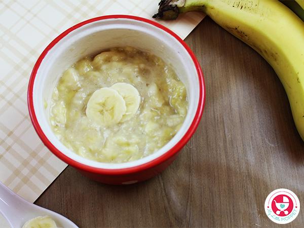 Banana Puree is ready.