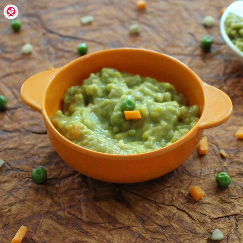 Barley Vegetable Khichdi in Tamil