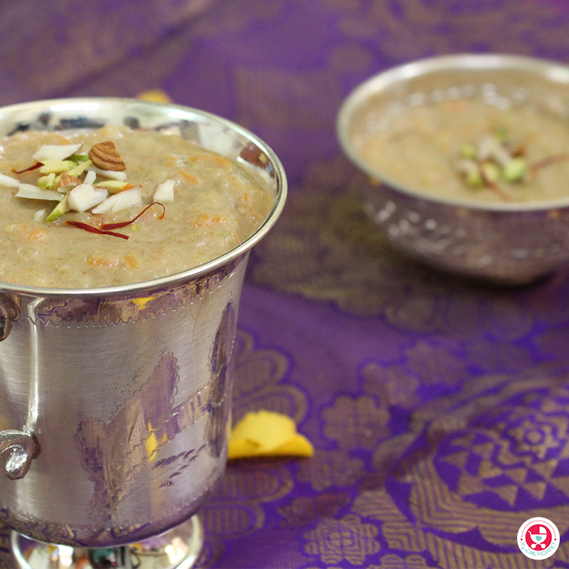 Carrot Aval Payasam in Tamil