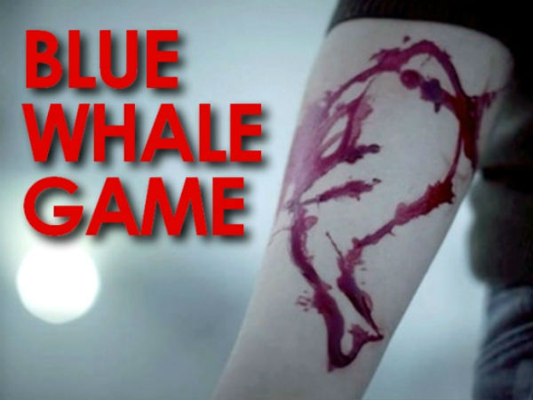 Nineth standard student caught with the signs of playing Bluewhale near Karur