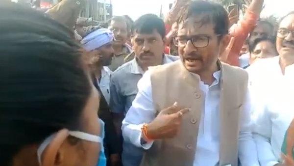 Had You Not Been A Woman ... Congress MLA Threatens Madhya Pradesh Officer On Camera