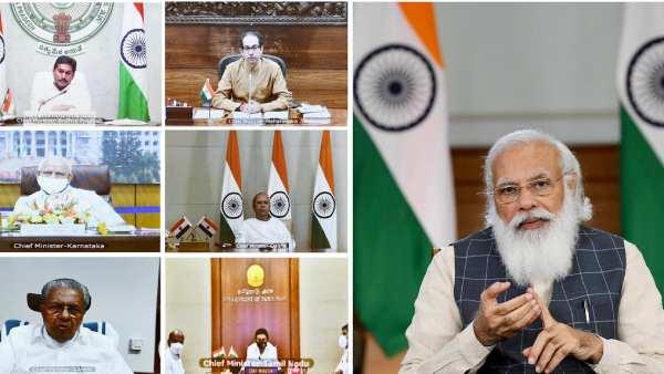 महाराष्ट्र, कोरोना का असर केरल की चिंता बढ़ने पर: राज्यों के मुख्यमंत्रियों की 6 बैठक में मोदी