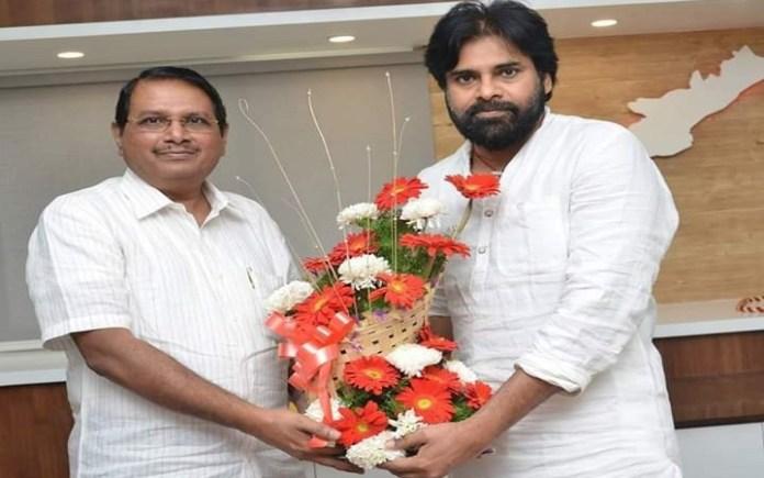 Rama Mohan Rao joined Pawan kalyan party