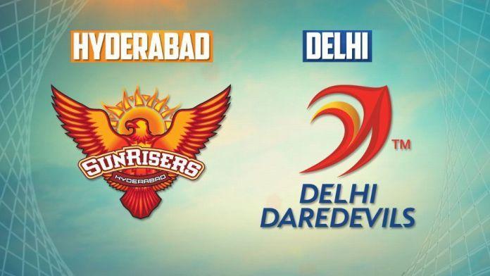 delhi daredevils vs sunrise hyderabad