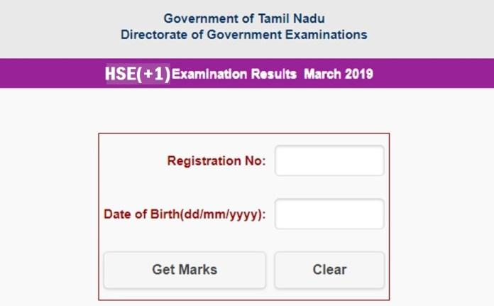 tamilnadu public exam result 2019