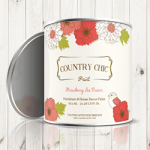 contry chic paint can