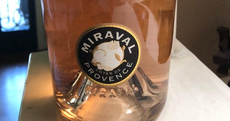 Wine of the Week-Miraval Rose'