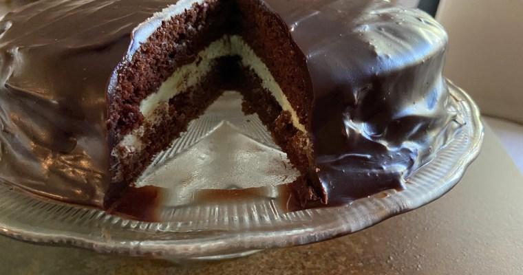 Treat Tuesday-Thin Mint Cake