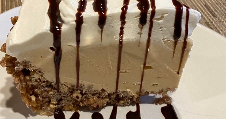 Treat Tuesday-No-Bake Peanut Butter-Fudge Ice Cream Pie