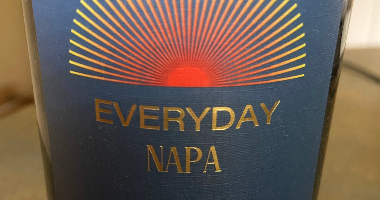 Wine of the Week-Everyday Napa Red