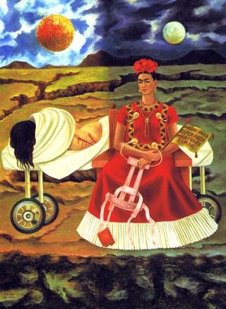 Arbol de la experanza por Frida Kahlo.