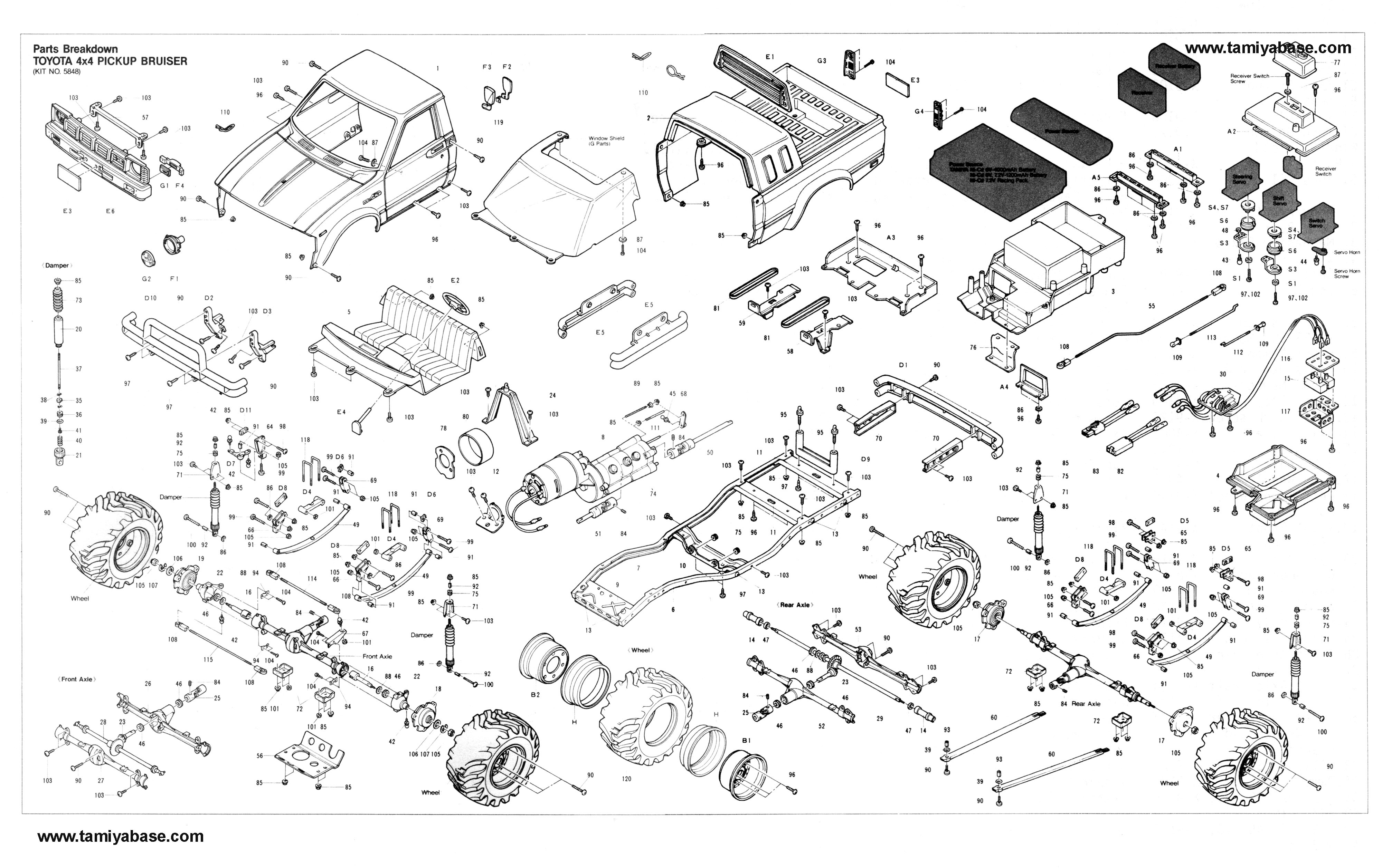 Toyota Exploded View