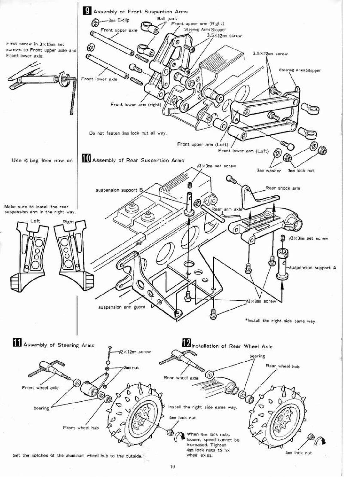 Ayk From Spike Showroom Ayk Viper Assembly Manual Scan Part 1 Of 2