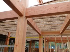 Floor System ⋆ Tamlin Homes Timber Frame Home Packages