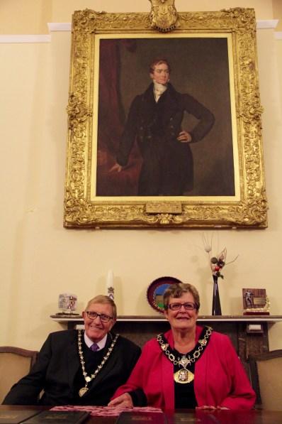 Tamworth Mayor with Sir Robert Peel