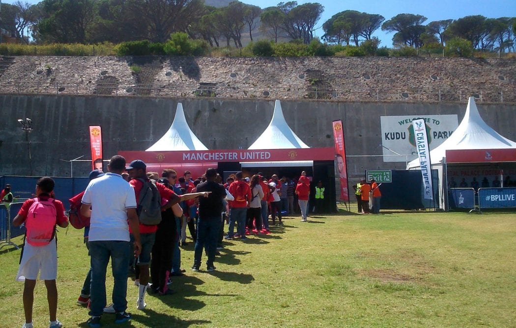 ... there were Manchester United Crystal Palace Arsenal Everton Chelsea Manchester City Swansea City AFC and Sunderland tents flanking Liverpoolu0027s ... & Event Review: Cape Town Scores BPL Live - Day One (19/03/16 ...