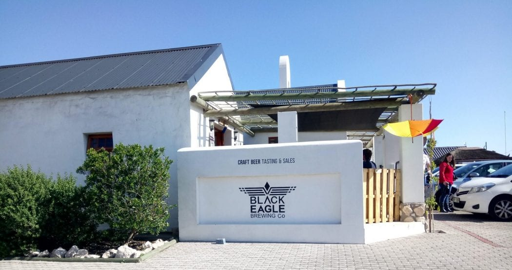 Travel Review: Langebaan's nano brewery, Black Eagle Brewing Company