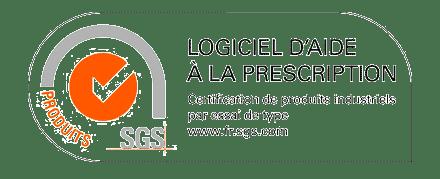 logo certification logiciel d'aide à la prescription
