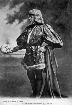 Sarah B As Hamlet