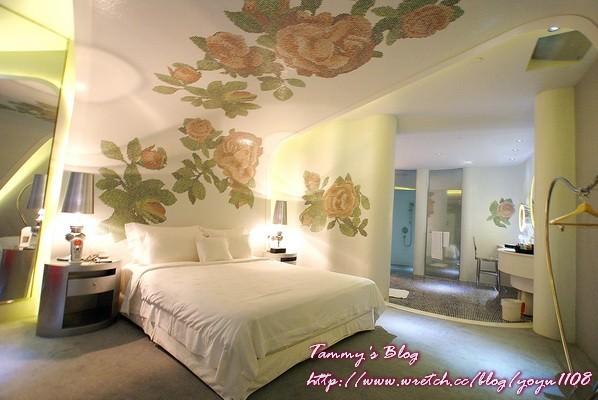 《台北摩鐵》大直。薇閣精品旅館-時尚房 凡爾賽玫瑰