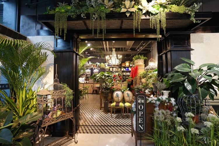 《台中美食》Thaï.J泰式料理 華麗花草泰國餐廳 城市中的綠叢林