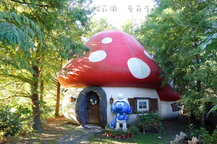《花蓮民宿》花見幸福莊園蘑菇屋 藍色小精靈的家 我終於來住蘑菇屋啦!