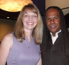 Tammy and Rev Michael Beckwith