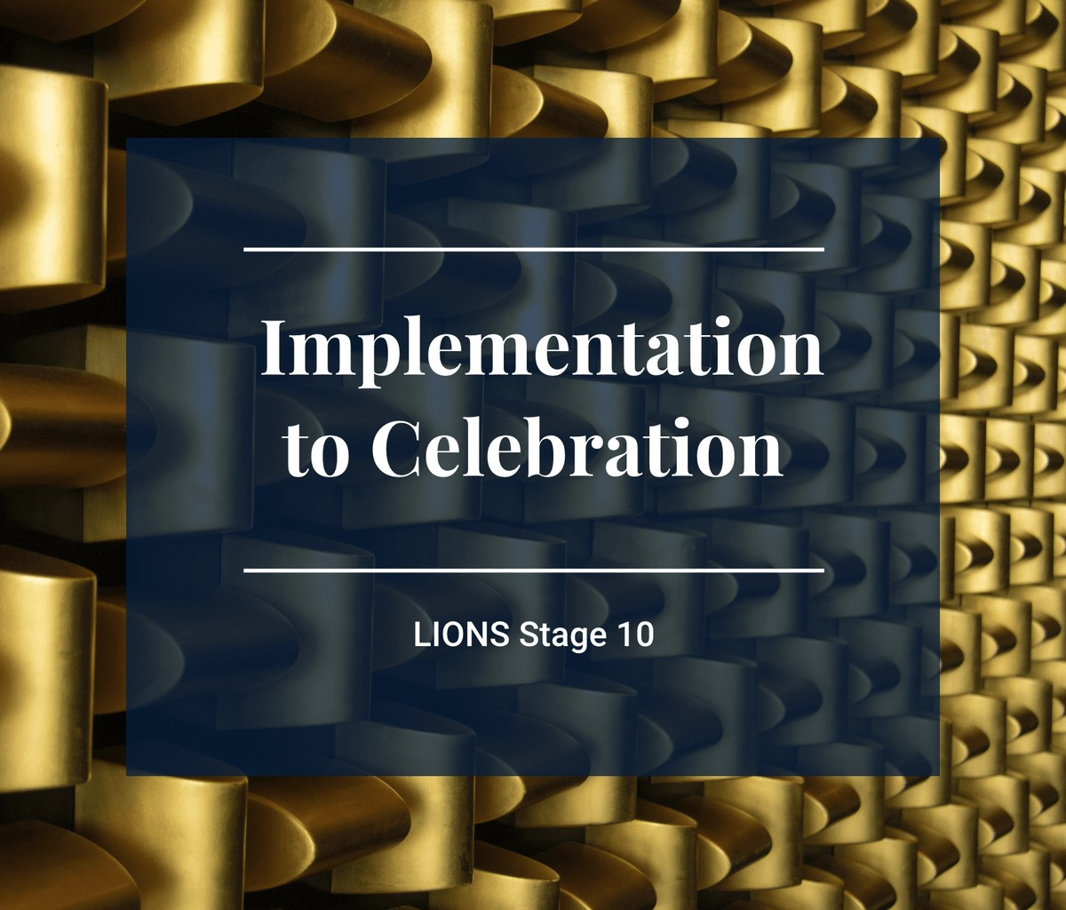 Lions Program Stage 10 Image