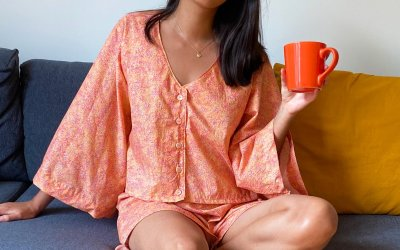 Sewing The Pipit Loungewear Set | Pattern Review