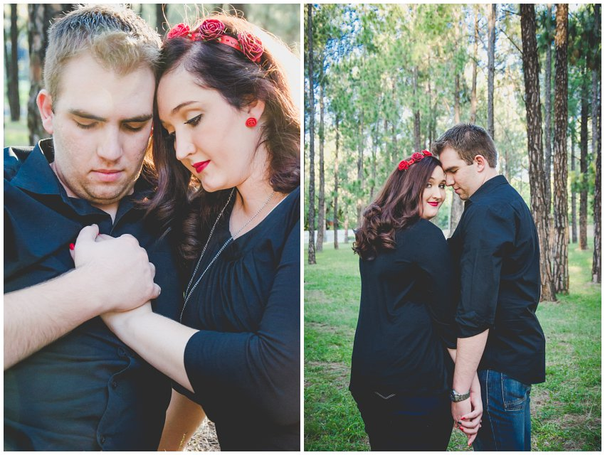 Bryanston Forest Couple Photoshoot, Pre-wedding photo shoot with Vintage classic theme, E-session on location at a forest in west rand, Johannesburg Wedding and couple photographer
