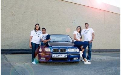 Balfour Park Photographer | Car Photo Shoot | Naidu Family