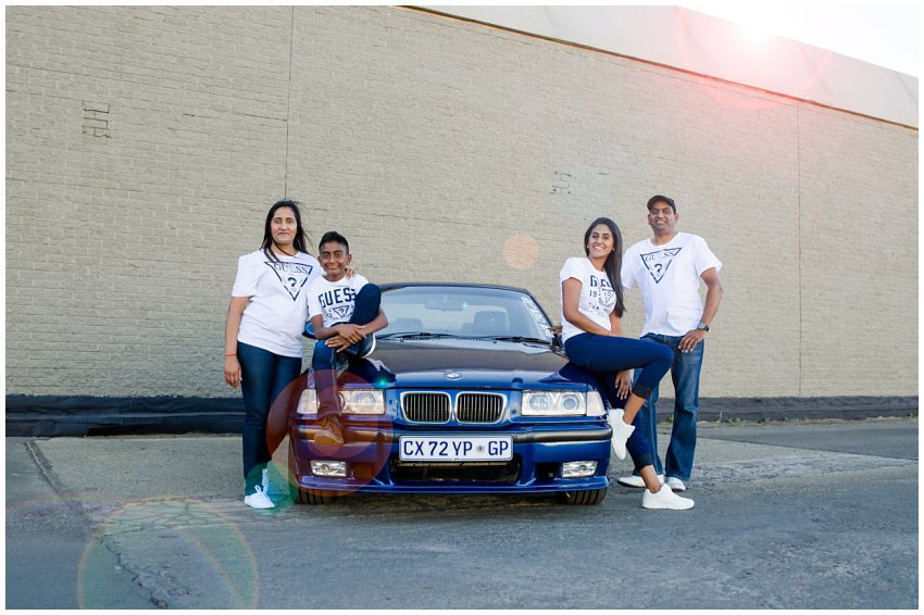 Balfour Park Photographer | Car Photo Shoot | Naidu Family