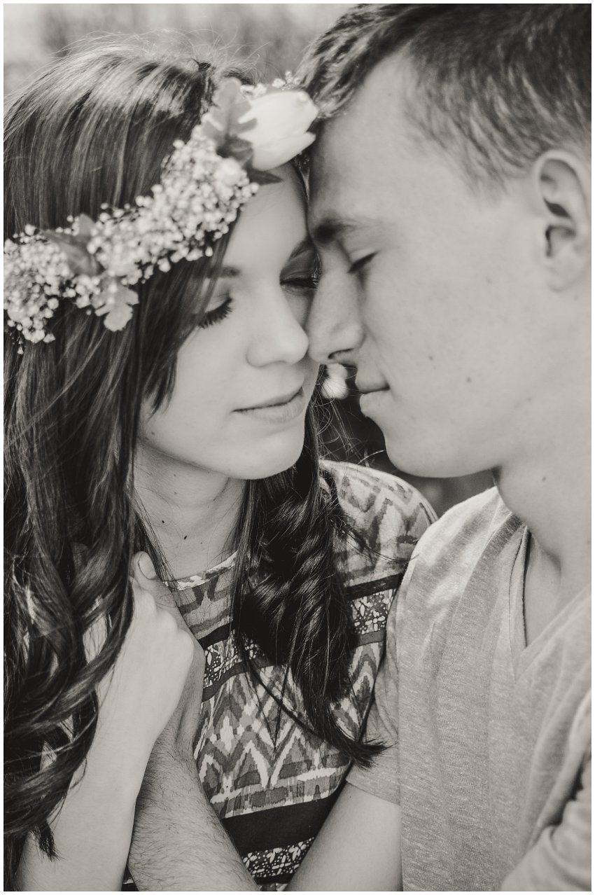 Couple photo shoot on nature location East Rand