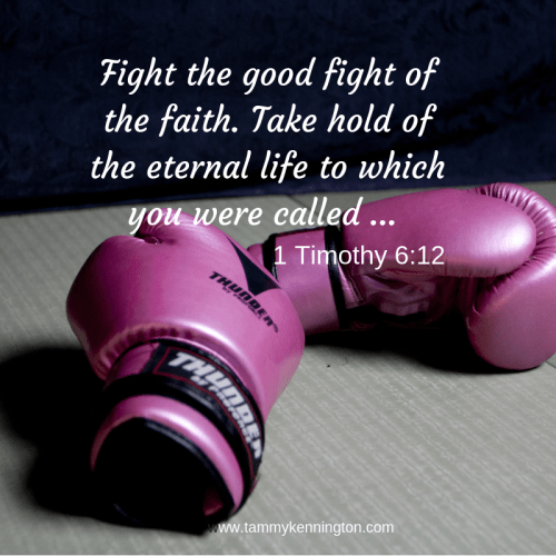 Fight the good fight of the faith. Take hold of the eternal life to which you were called ...