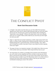 Conflict Pivot Book Club Guide